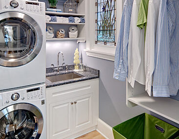 Stacked Laundry
