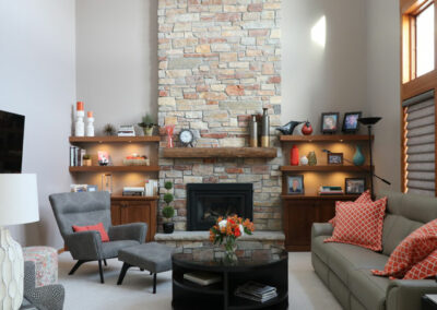 Elevated Plymouth Fireplace