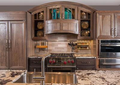 Gray Stone Kitchen