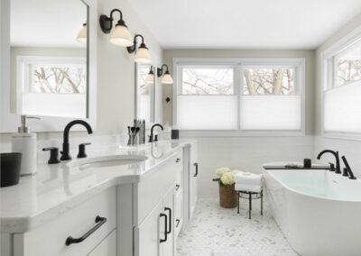 Bright & Wonderful Master Bathroom