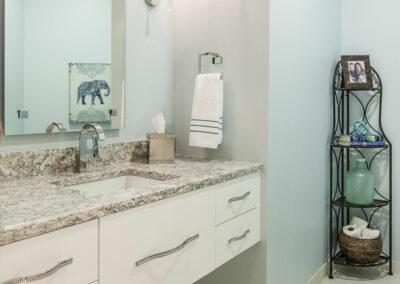 Modern Powder Bathroom Makeover