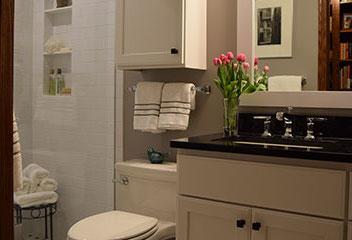 Pinwheel Master Bathroom